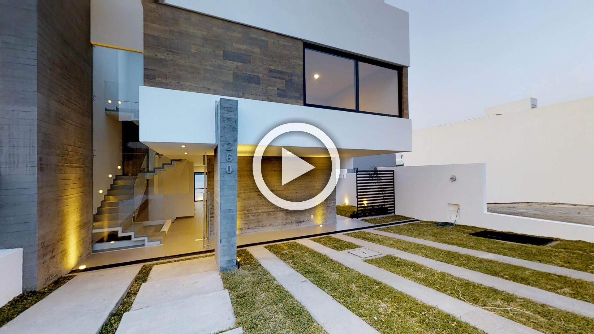 Los robles casa 260 recorrido virtual for Casas modernas recorrido virtual